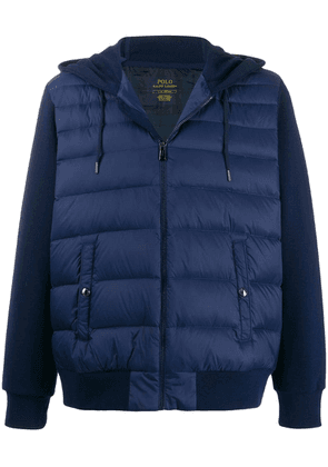 Polo Ralph Lauren padded hoodie gilet - Blue