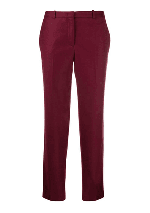 Fabiana Filippi slim-fit trousers - Red