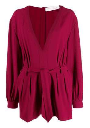 Iro belted playsuit - Red