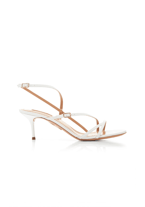 Aquazzura Carolyne Leather Sandals