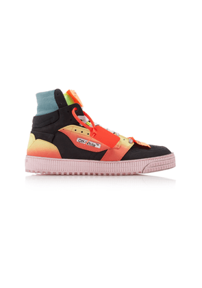 Off-White c/o Virgil Abloh Off Court Leather Sneakers