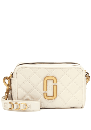 Softshot quilted leather crossbody bag
