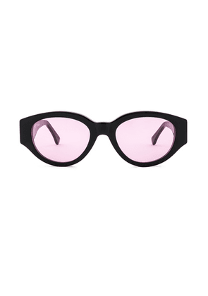 SUPER Drew Mama in Pink - Black. Size all.
