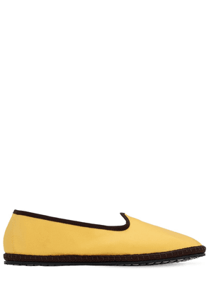 10mm Gaia Satin Loafers