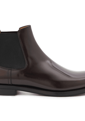Monmouth leather ankle boots