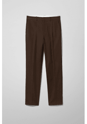 Bodie Twill Trousers - Brown