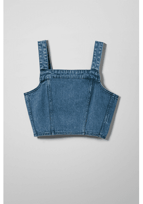 Elath Denim Acid Top - Blue