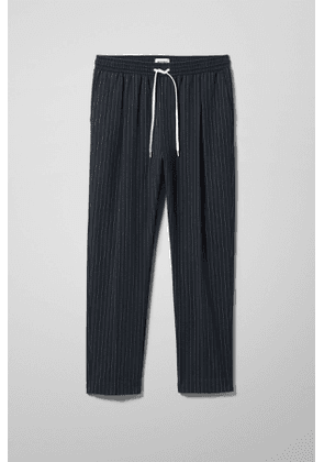 Thriller Pinstripe Joggers - Blue