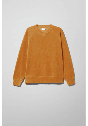Jan Velour Sweatshirt - Yellow
