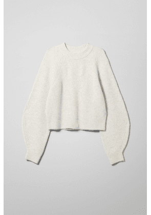 Isla Sweater - White