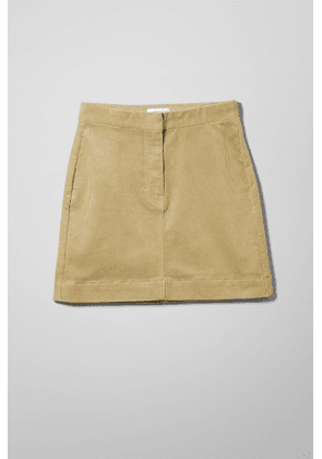 Brielle Cord Skirt - Beige