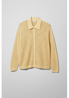 Lloyd Knitted Cardigan - Yellow