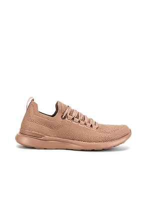 APL: Athletic Propulsion Labs TechLoom Breeze Sneaker in Mauve. Size 6.5,7,7.5,8,8.5,9,9.5,10.