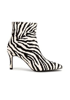 RAYE Liberty Bootie in Black & White. Size 5.5,6.5,7,7.5,8,8.5,9,9.5,10.