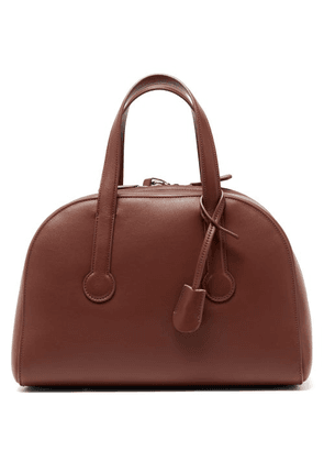 The Row - Sporty Bowler 12 Leather Bag - Womens - Tan