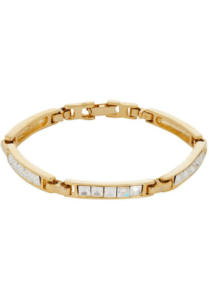 1980S Gilt Faux Diamond Bracelet