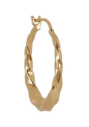 Gold-Plated Sadie Hoop Earring
