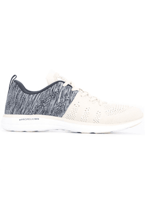 Apl panelled lace-up sneakers - Neutrals
