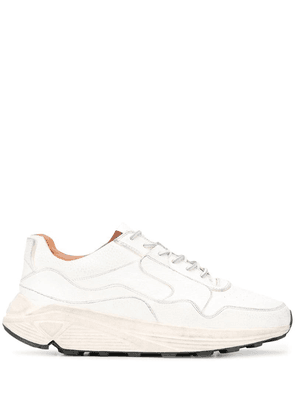 Buttero chunky lace-up sneakers - White