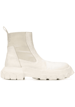 Rick Owens Bozo Tractor Beetle boots - Neutrals