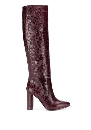 Via Roma 15 knee-length boots - Red