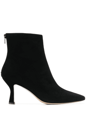 Leqarant pointed ankle boots - Black