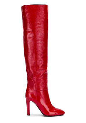 Giuseppe Zanotti over the knee boots - Red