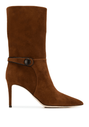Giuseppe Zanotti suede ankle boots - Brown