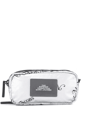 Marc Jacobs multiple compartment washbag - Silver