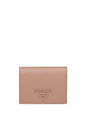 Prada Small Saffiano Leather Wallet - Pink