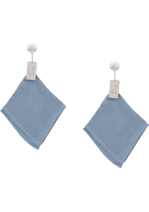 Jacquemus cloth style earrings - Metallic