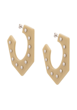 Rachel Comey Balady hoop earrings - Neutrals