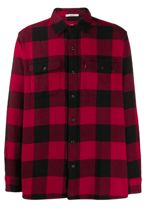Levi's checked button shirt - Red