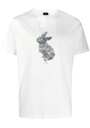 PS Paul Smith printed crew neck T-shirt - White
