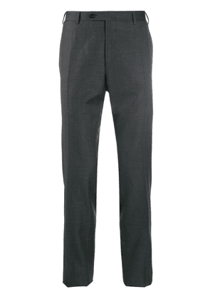 Canali slim fit trousers - Grey
