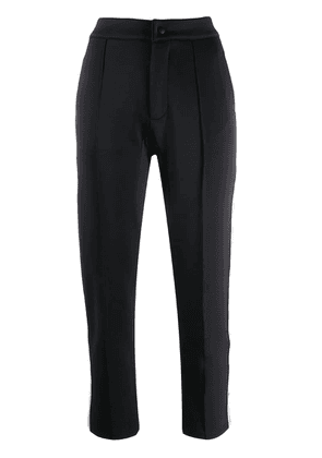 Kappa side-stripe trousers - Black