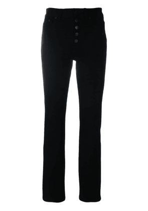 Joseph buttoned tapered jeans - Black