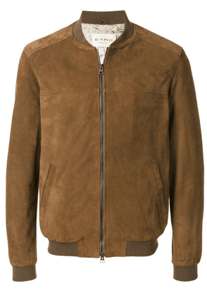 Etro classic bomber jacket - Brown