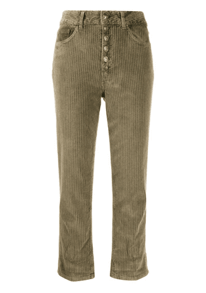 Dondup corduroy-style trousers - Green