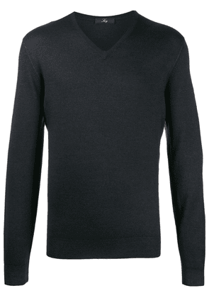 Fay knitted jumper - Black