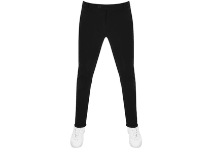 Les Deux Como Stretch Cropped Trousers Black