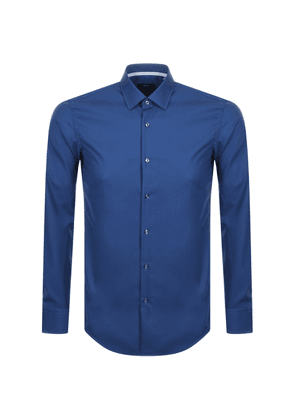 BOSS HUGO BOSS Jesse Long Sleeved Shirt Blue