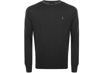 Ralph Lauren Crew Neck Knit Jumper Black