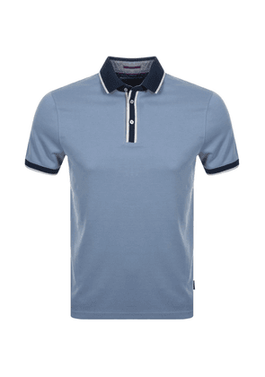 Ted Baker Howl Polo T Shirt Blue