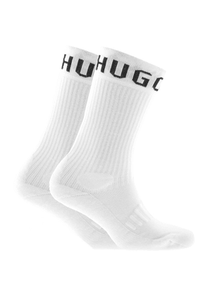 BOSS HUGO BOSS Two Pack Socks White