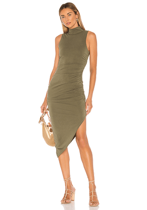 House of Harlow 1960 X REVOLVE Violet Dress in Green. Size L,M,S,XS,XXS.