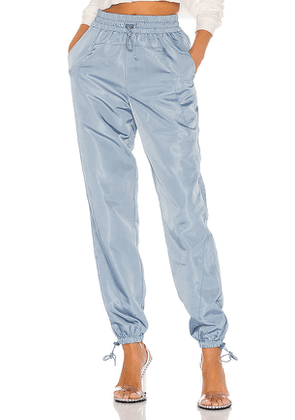 Lovers + Friends Lydia Jogger Pant in Blue. Size M,S,XL,XS,XXS.
