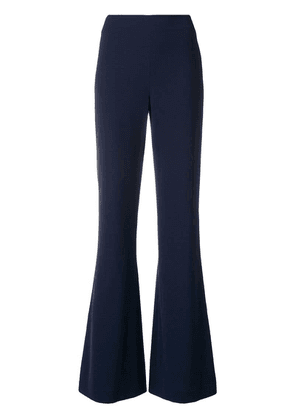 Alice+Olivia tailored flared trousers - Blue