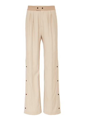Brøgger Elvie Wool Monochrome Trousers