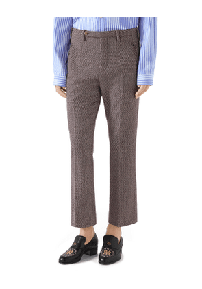 Men's Straight-Leg Ankle Trousers